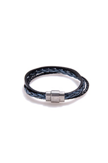 TWO TONE MAGNET BRACELET투톤 자석 팔찌[4color / one size]