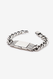 OPEN CHAIN SILVER BRACELET[one color / 8size]