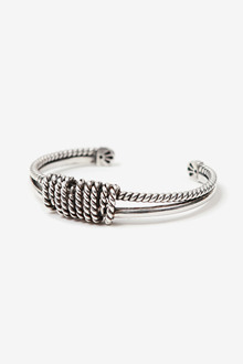 CLAW ROPE SILVER BRACELET[one color / 8size]