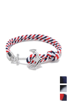 COLOR ANCHOR BRACELET컬러 닻 팔찌[3color / one size]